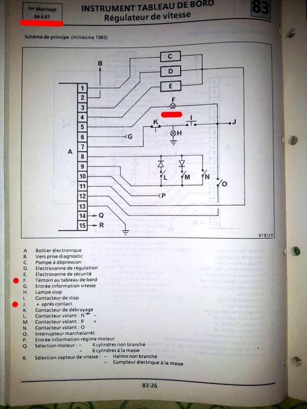 [RESOLU] Probleme regulateur de vitesse renault25 TDX - Page 4 Schema_reguph1
